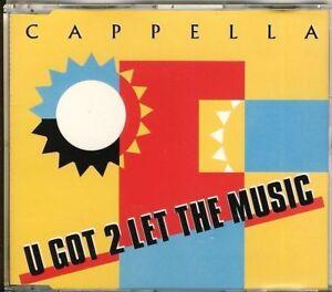 CAPPELLA-u-got-2-let-the-music-5-trk-MAXI-CD-ZYX