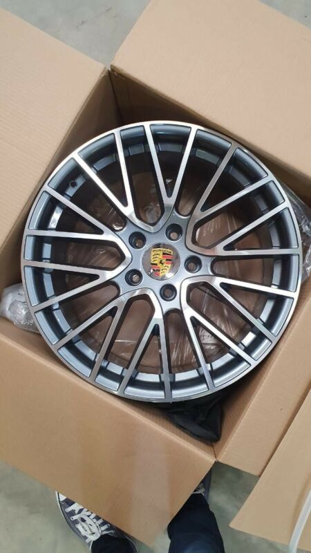 "20"" Porsche Wheels and Brand New Tyres"