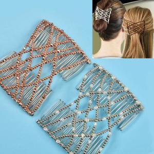 Flexible Butterfly Clip Magic Elastic Hair Comb Hair Brush Fashion Headband