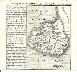 Antique-map-Durham