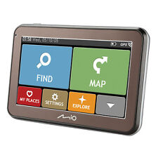"Mio Spirit 5400LM 4.3"" Western EU Lifetime Mapping IQ Routes GPS Sat Nav NON UK"