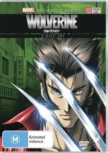 1 of 1 - Marvel Animated Series - Wolverine (DVD, 2012, 2-Disc Set)