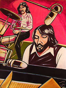 THE-BEATLES-PRINT-poster-ringo-paul-mccartney-white-album-abbey-road-drums-cd