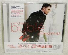 Michael Buble Christmas Taiwan Ltd CD+DVD w/OBI