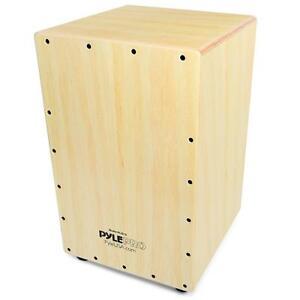 Details About New Pyle Pcjd18 Stringed Jam Cajon Wooden Cajon Percussion Box