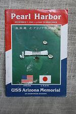 Pear Harbor USS Arizona Memorial Book Eyewitness Account English & Japanese WWII
