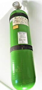 AVOX SYSTEMS Oxygene Cylinder / Sauerstoff PN 895-08077 Prüfung auf Wunsch