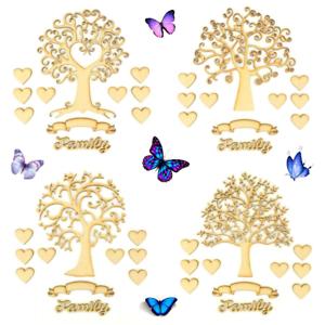 Mdf wooden family tree kit craft shapes ikea ribba box for Cornice ribba ikea