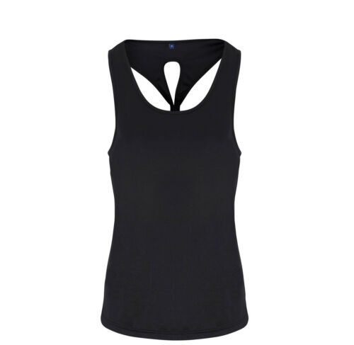 GYM FIT KEEP COOL WORK OUTS WOMEN/'S YOGA KNOT VEST TOP WICKING TOP FOR YOGA