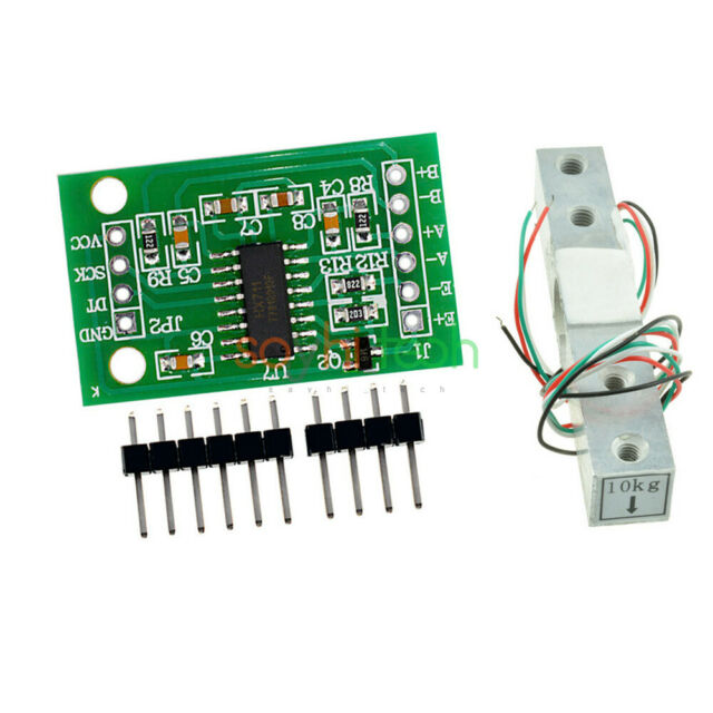 5PCS HX711 Weighing Pressure Sensor Dual-Channel 24 Bit Precision A//D Module