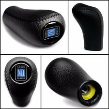 MAZDA NARDI TORINO 5-6 SPEED SPORT M10X1.25 BLACK LEATHER GEAR STICK SHIFT KNOB