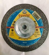 Klingspor Kronenflex A24n Supra Grinding Disc For Stainless Steel 7 0