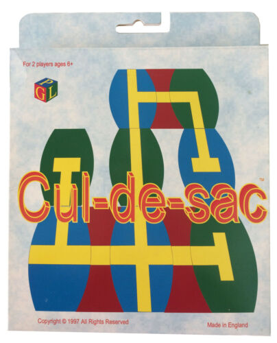 Cul de Sac Age 6+ 2 Player Card Game,Road Maze Puzzle Matching Cards,Autism Toy