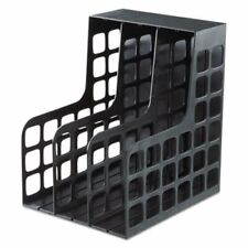 Pendaflex Decorack Plastic Magazine File Withsnap In Dividers Black Pfx23004