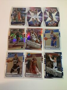 2020-21 Panini Donruss Optic basketball Rookie Holo Insert Lot Of 28 Cards