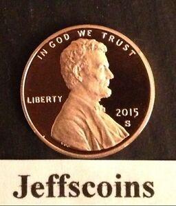 2015-S-Lincoln-Shield-Cent-Proof-Deep-Cameo-1-New-Penny-Union-via-US-Mint-Set