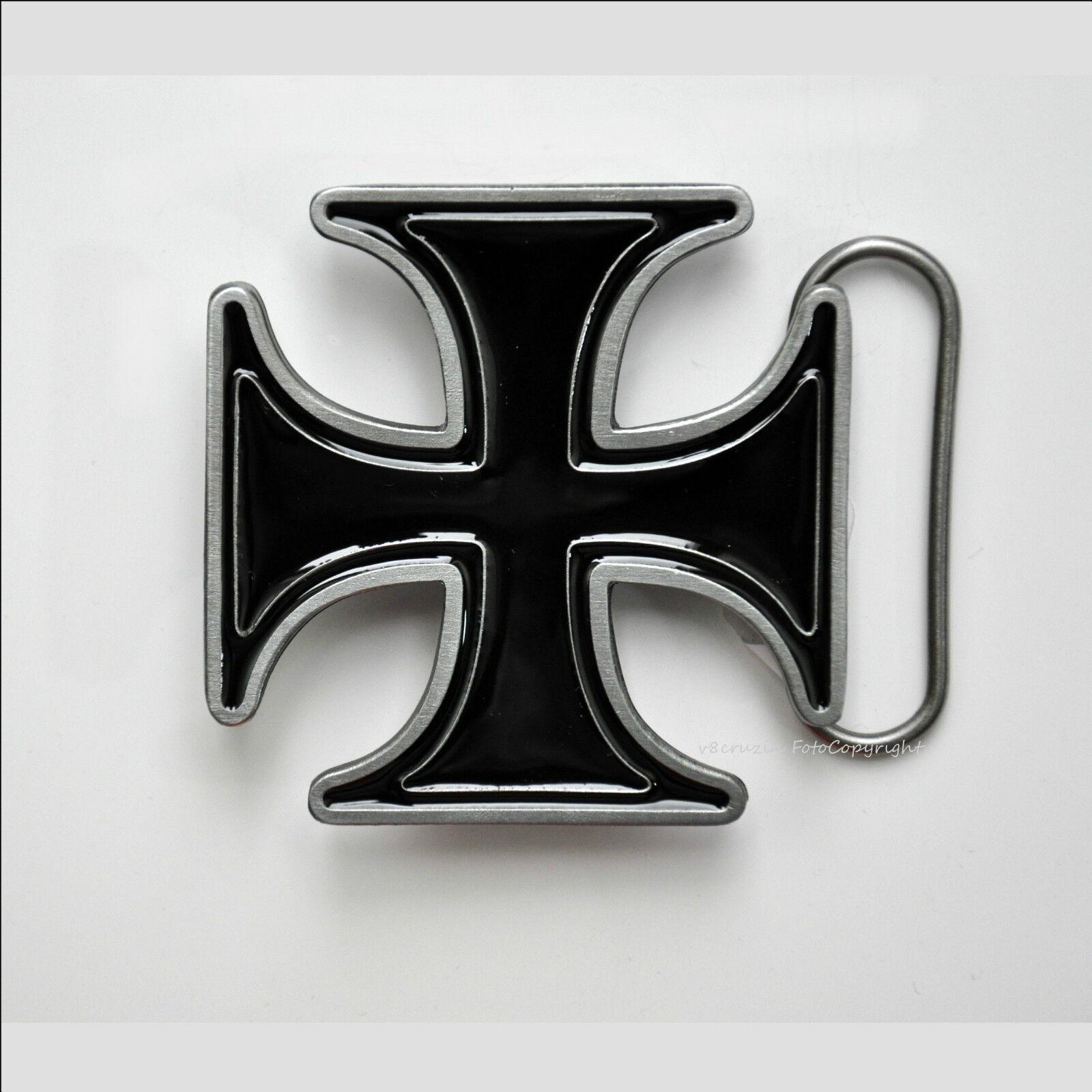 Kreuz Gürtelschnalle Cross Custom Biker Chopper Gothic Belt Buckle *065