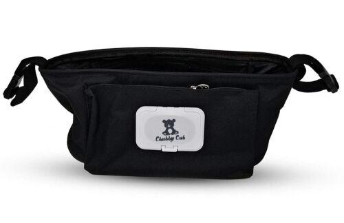 Stroller Organizer Baby Shower GIFT Storage Carriage Bag Buggy W// Wipes Dispense