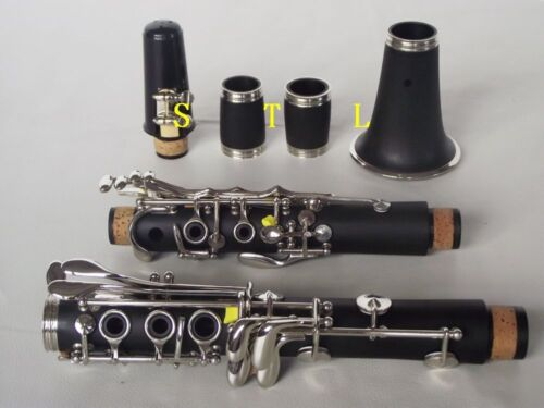 New Advanced C key clarinet Ebonite Good material and sound