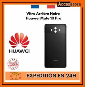 Cache Vitre Arrière Noir Huawei Mate 10 Pro