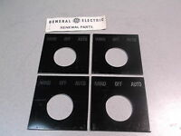 Lot 4 Ge Hand Off Auto Button Cover Bezel Selector Metal