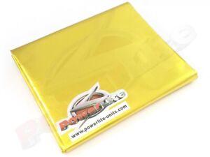 Powerlite-Gold-Reflektierend-Schutz-Thermo-Hitzeschutz-Blatt-Schutz-1-X-1-2m