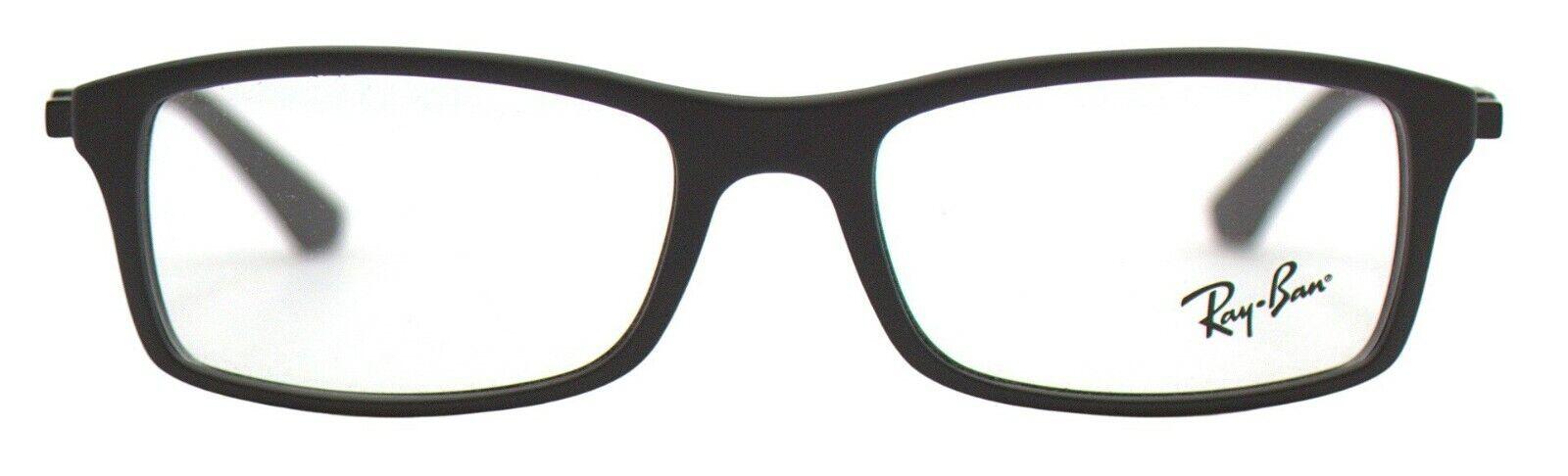 Ray-Ban Damen Herren Brillenfassung RX7017 5196 54mm schwarz matt BO88 B