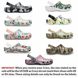 184256d05 Image is loading Crocs-Classic-Tropical-IV-Graphic-Holiday-amp-Drew-