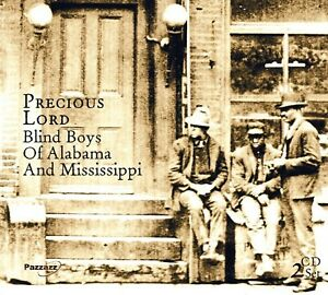 Five-Blind-Boys-of-Alabama-and-Mississippi-Precious-Lord-2-CD-NUOVO