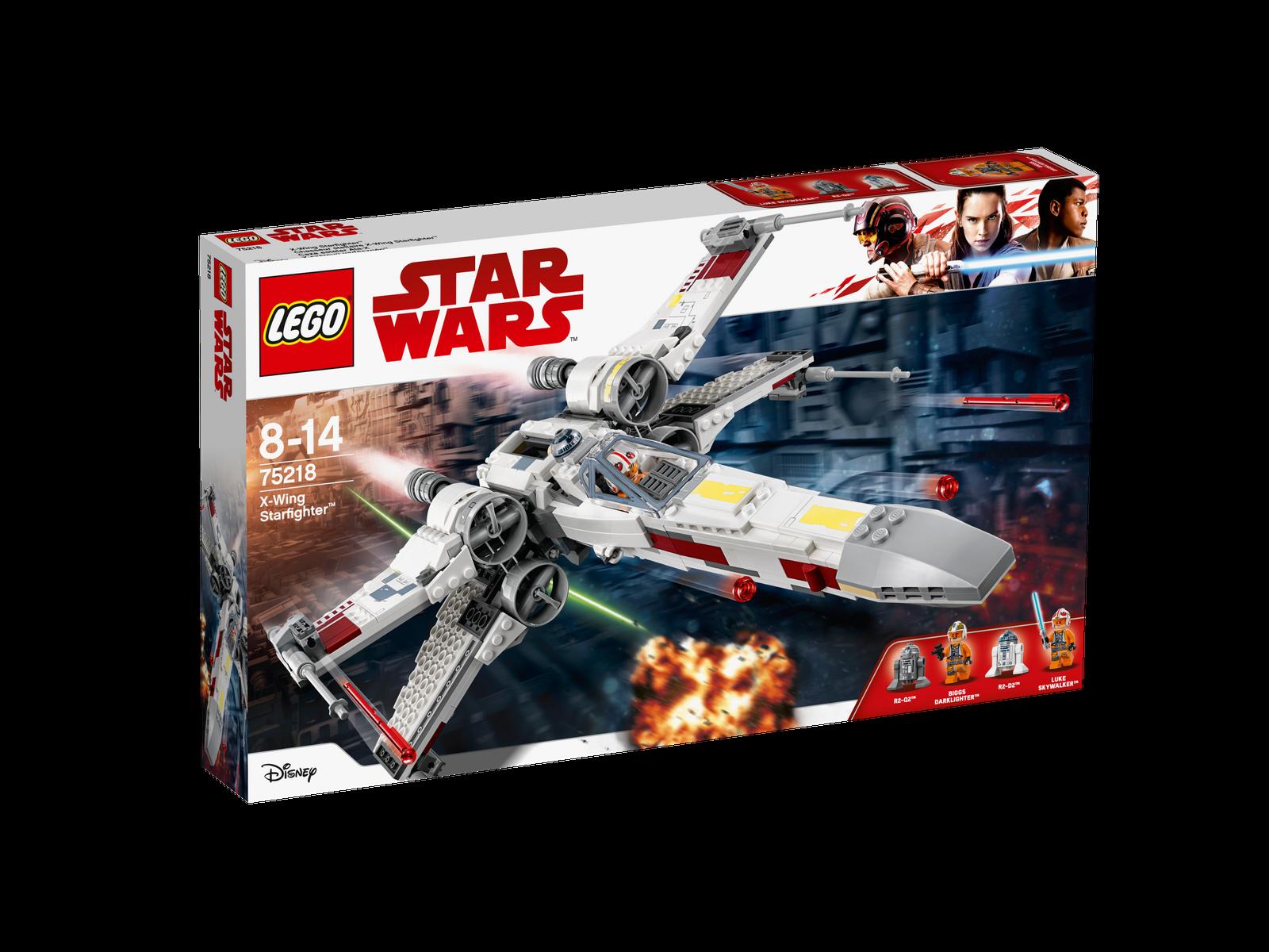 LEGO ® Star Wars ™ 75218 X-Wing stellari ™ NUOVO OVP NEW MISB NRFB