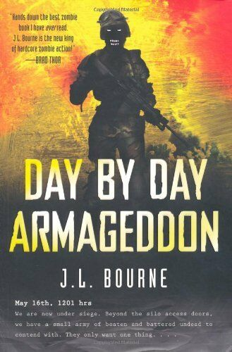 1 of 1 - Day By Day Armageddon by Bourne, J. L. 1849831580 The Cheap Fast Free Post