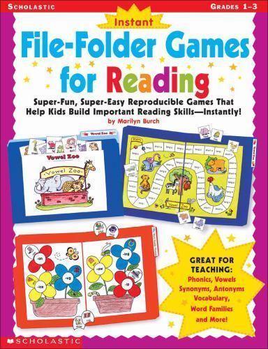 Instant File-Folder Games for Reading: Super-Fun, Super-