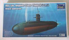 Riich USS Los Angeles Class Flight II (VLS) Attack Submarine in 1/350 28006 ST
