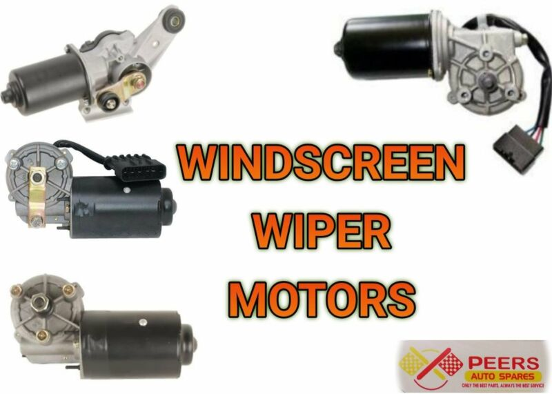 WINDSCREEN WIPER MOTOR FOR MOST VEHICLES