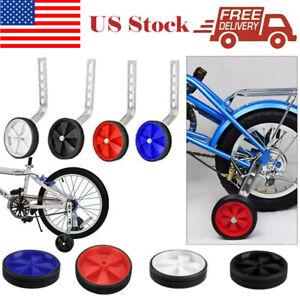 "Kids Bicycle Bike Stabilisers Training Wheels 12-20/"" Handlebar Streamers"