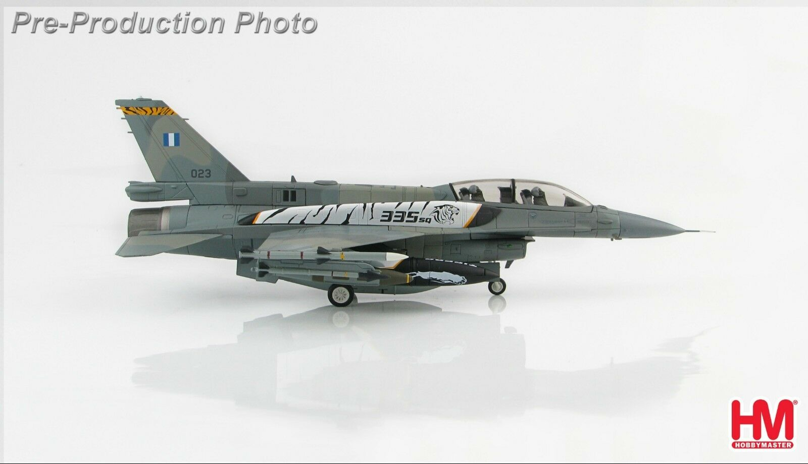 Hobby Master HA3865, Lockheed F-16D Escuadrón De Pelea Falcon 335, Aire helénica F