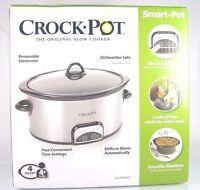 Crock-pot Smart-potprogrammable Slow Cooker4 Qt. Ovalbrushed Stainless Steel