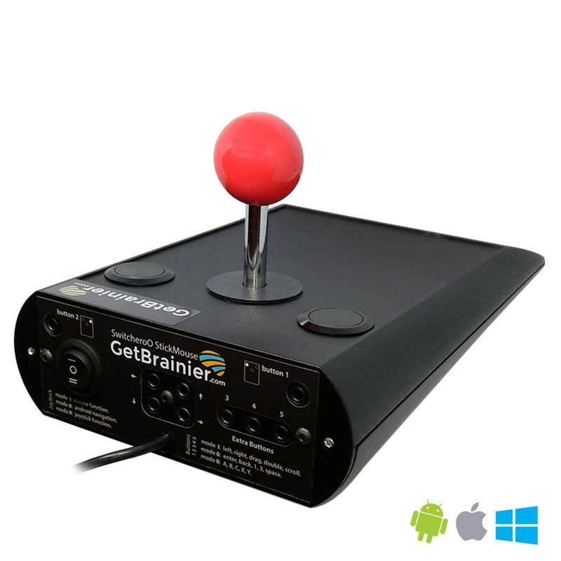 USB joystick StickMouse mouse adapted access scanning special need AAC android