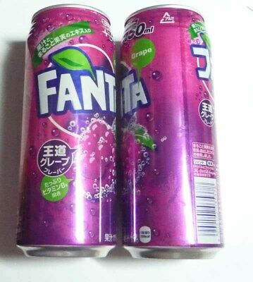 FANTA ORANGE can from JAPAN tall 500ml 2019 Asia LARGE RARE 500ml Coke 6.5/""