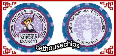 Angel/'s Ladies Brothel Whos Keeping Score Chip NEVADA LEGAL CAT HOUSE Beatty