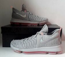 0d27d6546d9b Nike Zoom KD 9 LMTD Pre Heat Wolf Grey Size 12.5 Basketball Shoes 843396-090