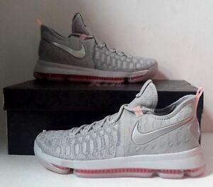 e20360e7febe NEW Nike Zoom KD 9 LMTD Pre Heat Wolf Grey Sz 10 843396-090 ...