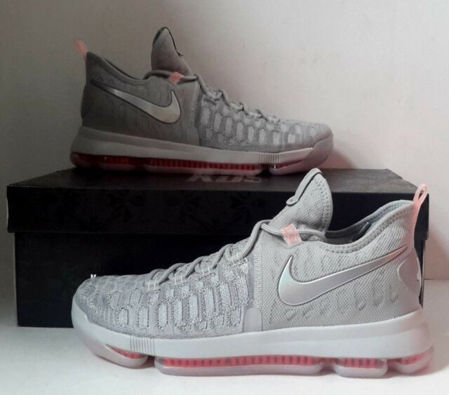 factory authentic 32dc5 ae349 NEW Nike Zoom KD 9 LMTD Pre Heat Wolf Grey Sz 10 843396-090 Basketball