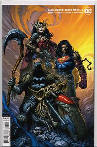 DARK NIGHTS: DEATH METAL #1 (David Finch Variant) COMIC BOOK ~ DC Comics