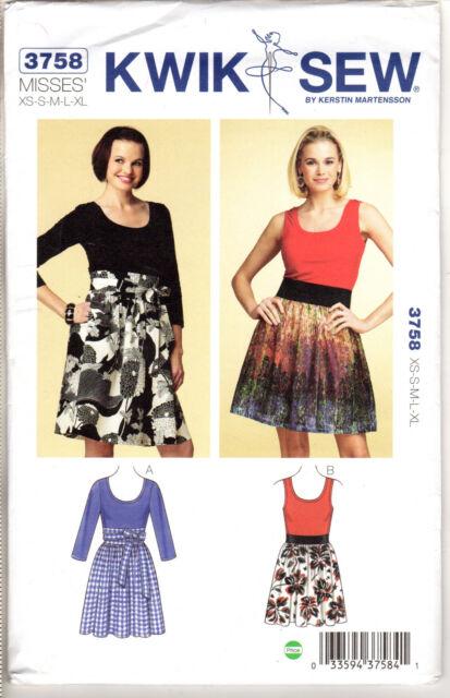 CHOICE NEW Kwik Sew Kerstin Martensson Sewing Patterns Misses/' Skirts Jackets+