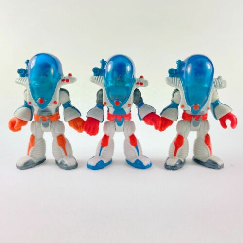 Lot of 3pcs Fisher Price Imaginext Outer Space Alpha Star Driver Astronaut