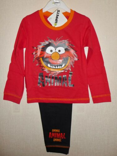 12-18 months up to 3-4 years ANIMAL PYJAMAS AGES NEW BOYS TODDLER THE MUPPETS