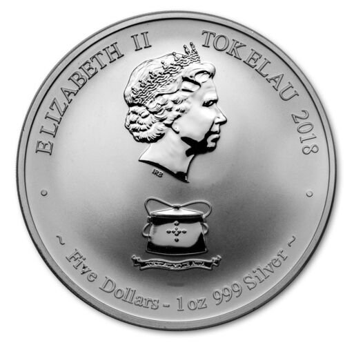 2018 Tokelau 2-Coin Silver Year of the Dog Proof//Reverse Proof