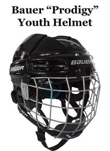 55557e96e4b Image is loading Bauer-Prodigy-Youth-Helmet-for-Bull-Riding-Adjustable-