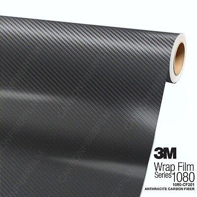 3M 1080 Carbon Fibre White Air-Release Vinyl Wrap Roll Including Toolkit 2ft x 5ft